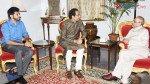 Thackerays meet President Pranab Mukherjee