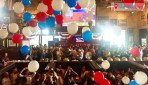 US president elected -celebrations in Mumbai