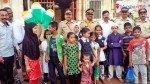V P Road police celebrate R Day