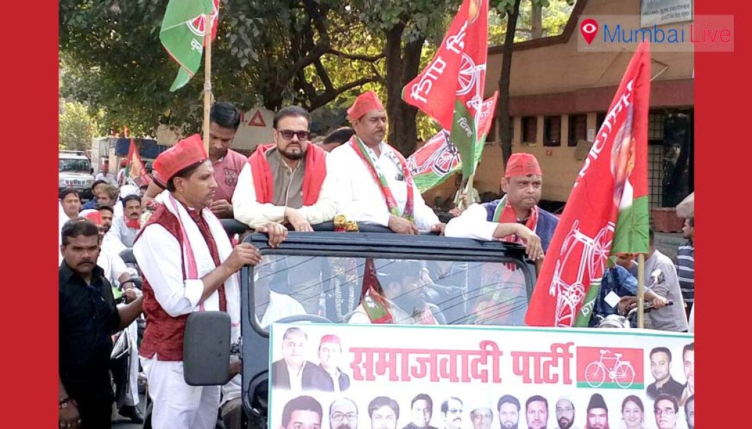 SP rallies on wheels