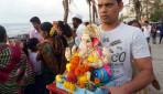 Gauri –Ganpati bids adieu
