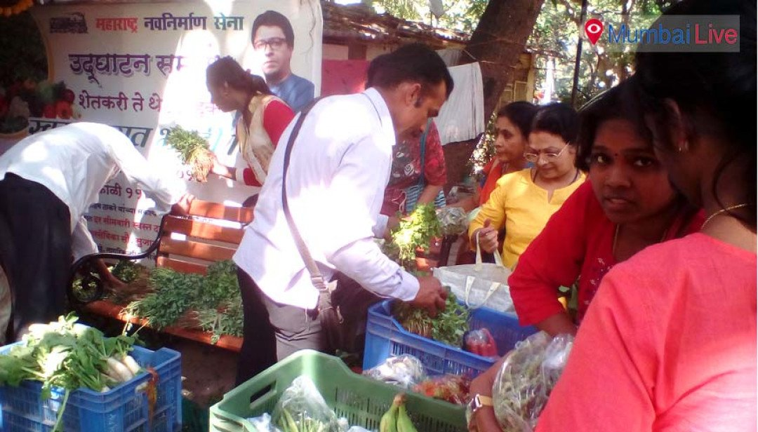 MNS sells off affordable veggies