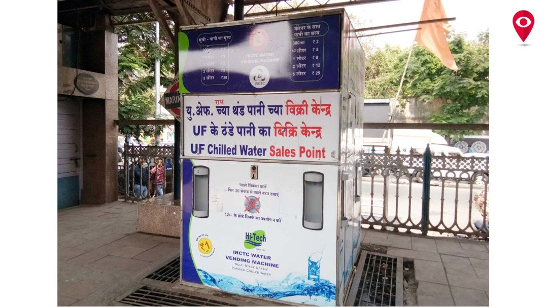 Water vending machines running dry at stations