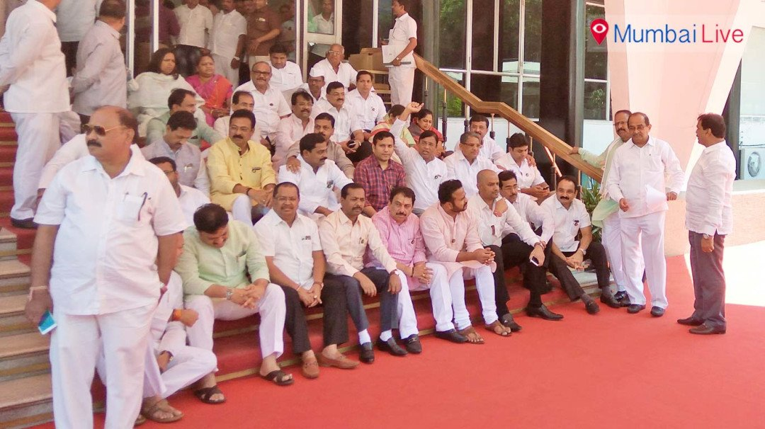 Assembly session disrupted over farmers' loan waiver issue