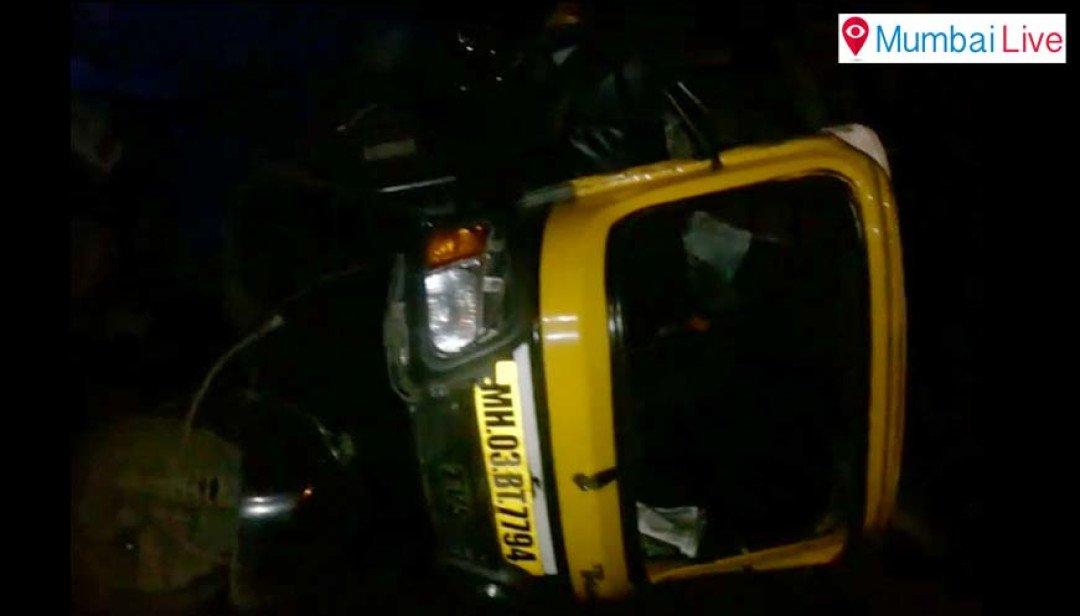 Car driver knocks down 7 people at Vikhroli