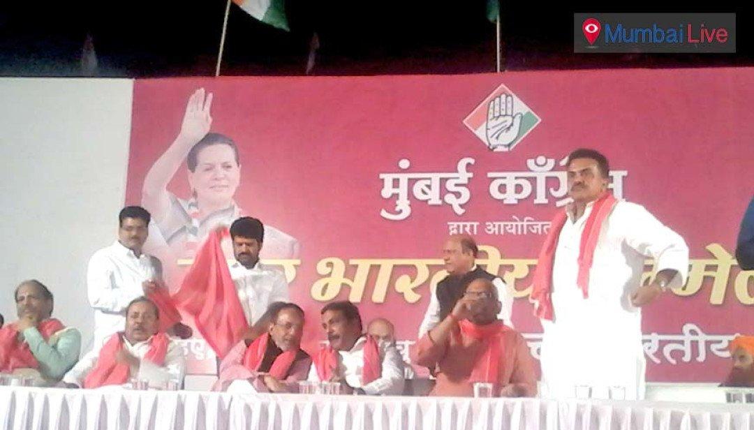 उत्तर भारतीय वोटों पर कांग्रेस की नजर