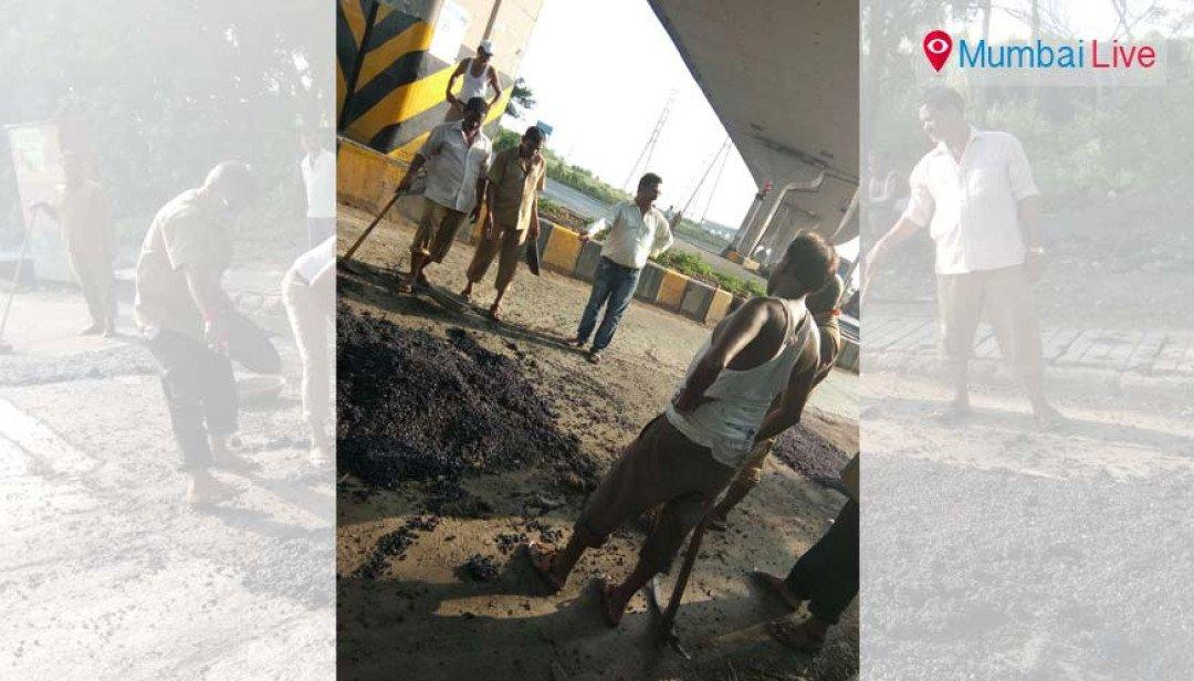 25 more potholes to repair...