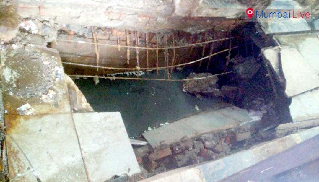 Public toilet collapses, 4 women injured