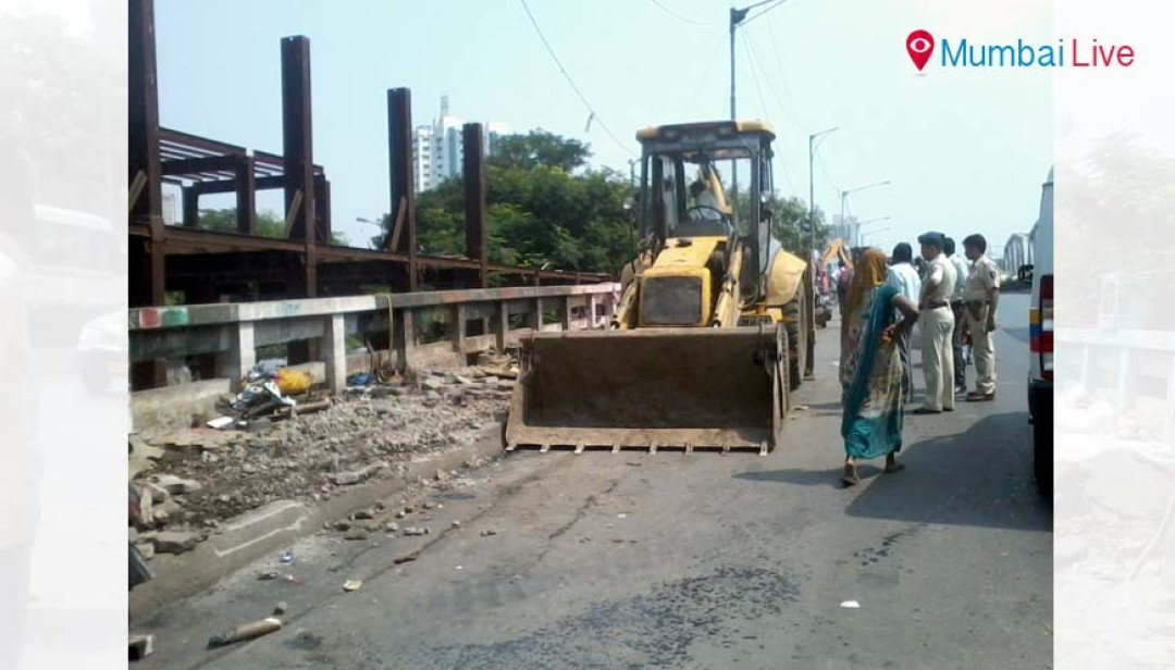 BMC razes down illegal construction