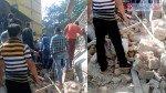 दीवार गिरने से 3 लोग दबे