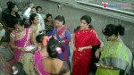 A Warli haldi-kumkum celebration