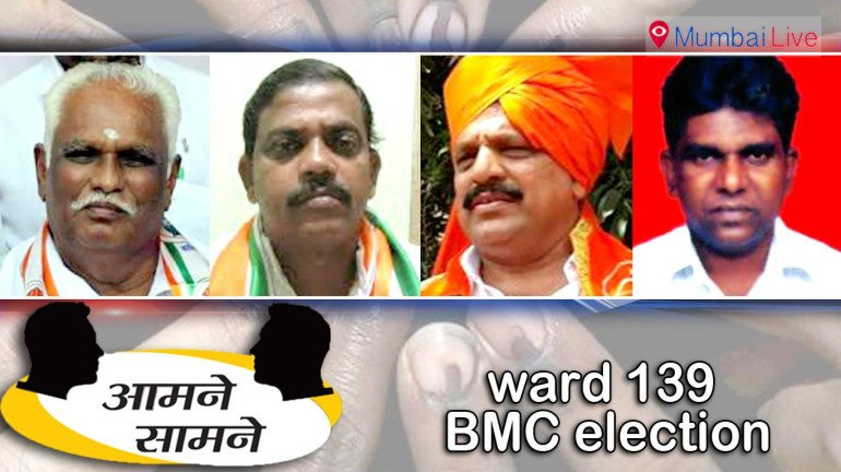 Ward 139 sees colourful battle for BMC seat
