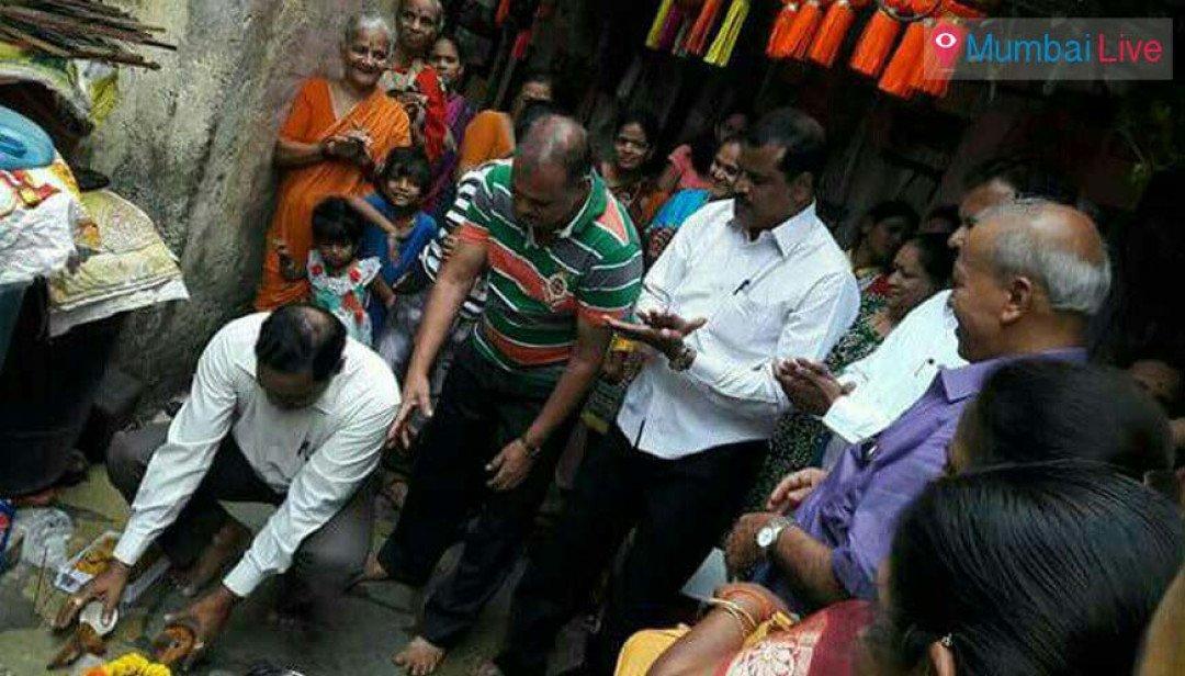 Repair work of water pipeline begins at Bhoiwada