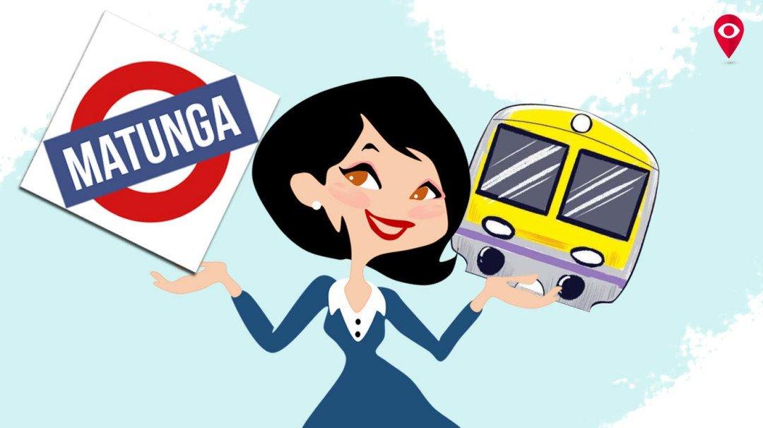 Matunga Station waves the feminism flag
