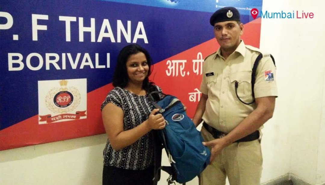RPF hands over the belongings worth lakhs