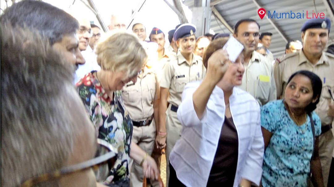 World Bank CEO travels on Mumbai local to assess railway system