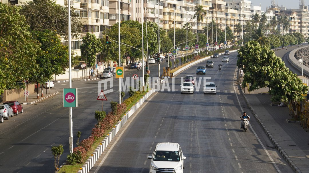 Physical distancing necessary for hoardings on Marine Drive